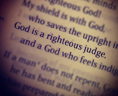 God, the Righteous Judge